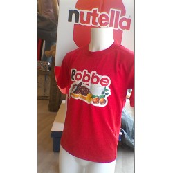 Kinder t-shirt Nutella met je eigen naam