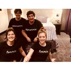 Dames t-shirt met je eigen naam/tekst