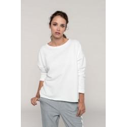 """K471 - Damessweater """"Loose fit"""" eventueel naar wens bedrukt/geborduurd"""