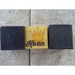 Zeepblokje 3-3-3 cm onbedrukt met gat voor zeepketting