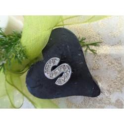 Zeepje lila hartje 4,5 cm blanco voor zeepketting