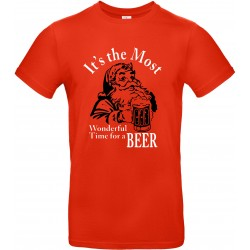 Unisex t-shirt Wonderfull time for a beer