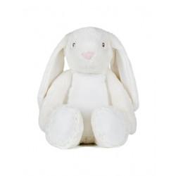 Zippy bunny 45 cm borduring op de buik (optie)