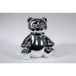 beer 15H 11B 13L spaarpot electroplaited zilver met/zonder naam 6,95