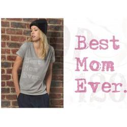 Bio V-hals best mom ever