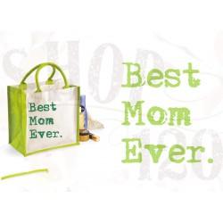 WM jute shopper Best mom ever