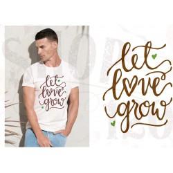 Bio t-shirt Let love grow