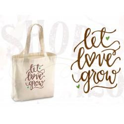 Organic shopper Let love grow