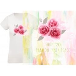 Dames bio t-shirt inner peace 6